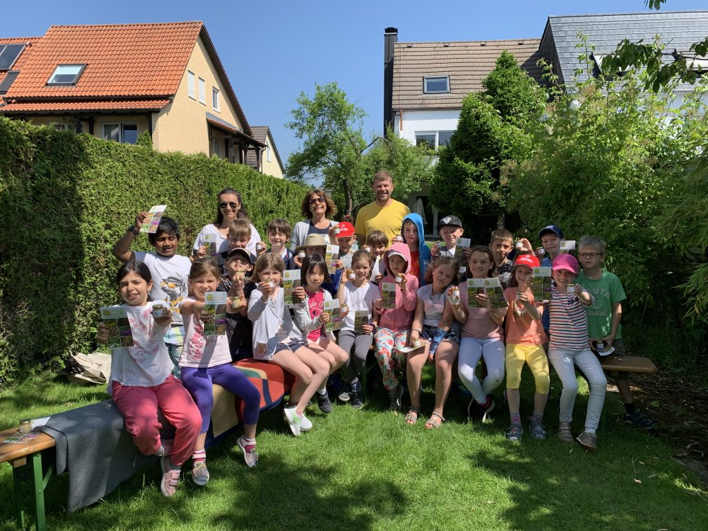 Imkereiführung der Grundschule am Kirchplatz, Ismaning